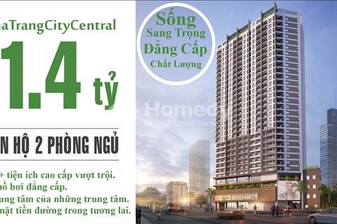 Căn hộ Nha Trang City Central, 4* mở bán đợt 2, từ 1,6 tỷ/căn