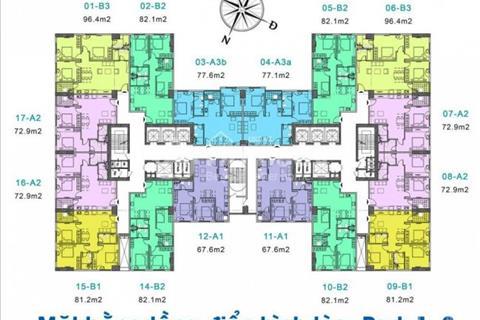 Giá tốt căn 1912 tòa Park 2 Eurowindow River Park Đông Trù