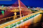 Đồng thời, view mặt tiền bên sông Hàn thơ mộng, điểm hút khách du lịch hàng năm tại thành phố.