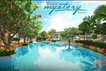 Một góc khu đô thị Saigon Mystery Villas mang lại cảm giác thân thiện với môi trường, một không gian sống xanh, cùng bể bơi tiện ích.