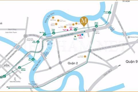 Masteri An Phú mặt tiền xa lộ Hà Nội, giá từ 33 triệu/m2. Vị trí đắc địa. Đặt chổ chọn căn ngay