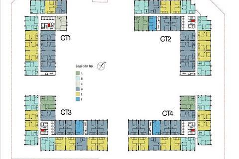 Cần đổi sang diện tích lớn hơn nên muốn bán căn 55 m2 tòa CT3 chung cư Eco Green Nguyễn Xiển