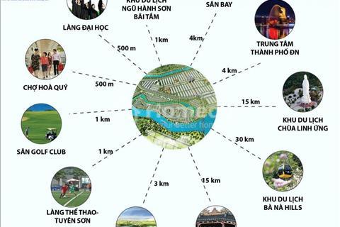 Chính chủ bán đất khu đô thị Hòa Xuân mở rộng (dự án Sunland - Sungroup) B2.70