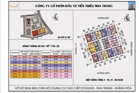 Mở bán OC2B Mường Thanh Viễn Triều, sở hữu ngay căn hộ view biển