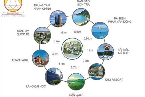 Bán đất Nam Việt Á giá rẻ, đường 10m5, Phạm Tuấn Tài B2.16, 126 m2