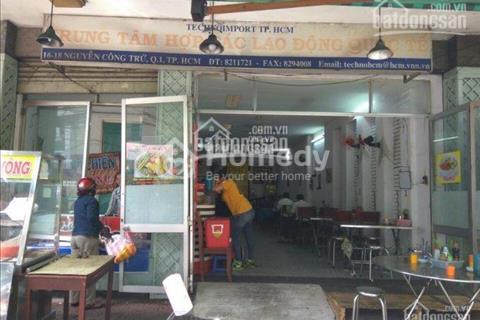 Cần cho thuê gấp mặt bằng trệt 80 m2 đường Nguyễn Công Trứ, gần Bitexco, cầu Khánh Hội