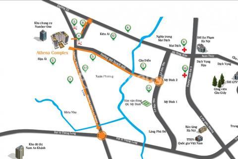 Cần bán suất ngoại giao Athena Complex cách sân vận động Mỹ Đình 3 km