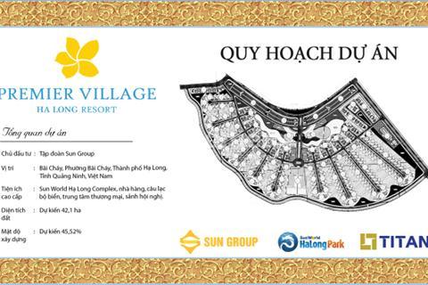Premier village Hạ Long Resort - Cơ hội đầu tư Biệt thự biển, shop house không thể bỏ qua!