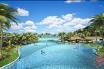 Bao quanh biệt thự là những tổ hợp nghỉ dưỡng và vui chơi giải trí được đầu tư một cách bài bản và kỹ lưỡng của tập đoàn Sun Group.