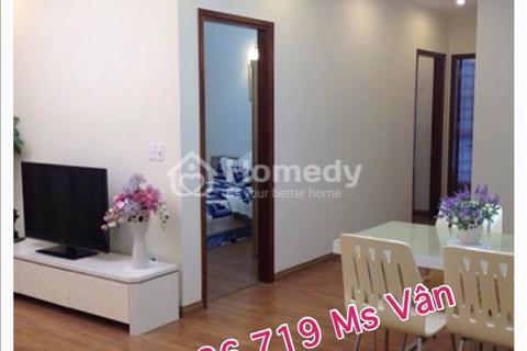 Cần cho thuê gấp căn hộ Khánh Hội 1 - 76 m2, 2 phòng ngủ, trang bị nội thất dính tường