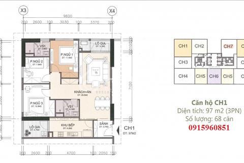 Bán chung cư A10 Nam Trung Yên - Cầu Giấy - Tầng 15, 16, 17