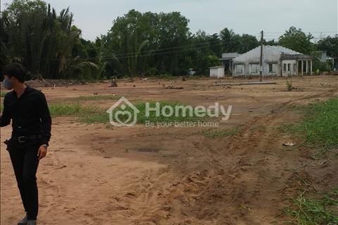 Đất thổ cư ngay chợ Tân Bửu, diện tích 100 m2, giá 300 triệu, sổ hồng chính chủ, bao xây dựng