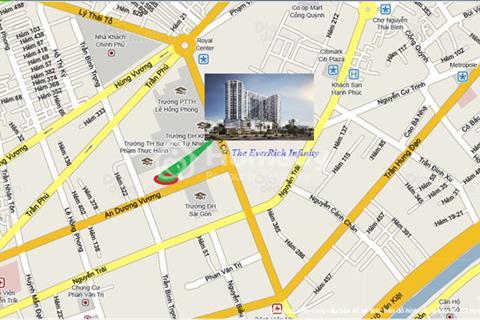 Bán căn hộ The Everrich Infinity, chiết khấu cao, 3,6 tỷ căn. Tặng nội thất 400 triệu