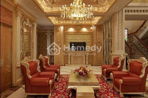 Bán biệt thự sân vườn Khương Hạ 190 m2 x 4 tầng, mặt tiền 10 m, giá quá rẻ 58 triệu/m2