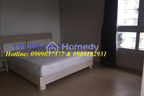 Chung cư căn hộ Dragon Hill, thiết kế với diện tích 122 m2, 3 phòng ngủ, 2 WC, full 700 USD/tháng