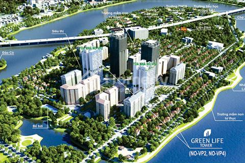 Bán gấp căn hộ 3 phòng ngủ chung cư VP2 bán đảo Tây Nam Linh Đàm