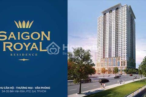 Cần sang nhượng lại căn hộ Sài Gòn Royal 114 m2, 3 phòng ngủ. Giá chỉ 5,5 tỷ, view sông cực đẹp