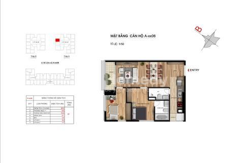 Chính chủ bán chung cư Imperia Garden, 66,1 m2 tầng 18 căn 16, tòa A (35 tầng), giá 2,35 tỷ
