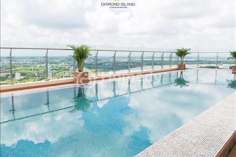 Căn Penthouse Đảo Kim Cương, 262m2 tháp Maldives, tầng 28, view sông, sân vườn và hồ hơi riêng
