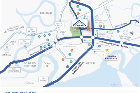 Monada Khang Điền  Q.9 - Nhà phố 1 trệt 2 lầu, giao thô, giá từ 3 tỷ/căn