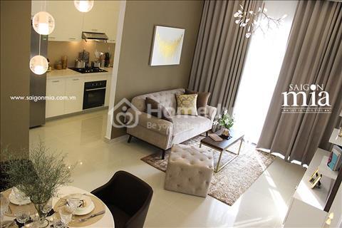 Bán căn hộ mặt tiền Trung Sơn, view sông tặng nội thất cao cấp + 1 năm phí quản lý