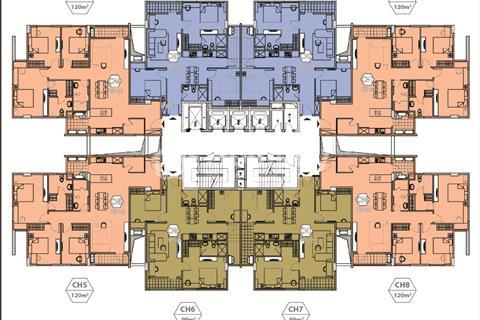 Cần bán căn hộ 307 tại tòa T3 Green Park Việt Hưng, diện tích 99 m2