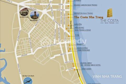 Cần bán căn hộ cao cấp 5 sao The Costa Nha Trang, full nội thất view trực diện biển giá cực tốt