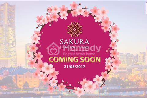 Sakura Central Park - phố thương mại hoa anh đào ven biển Đà Nẵng
