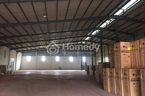 Cho thuê kho xưởng diện tích 800 m2, 1.800 m2 khu công nghiệp Tiên Sơn, Từ Sơn, Bắc Ninh