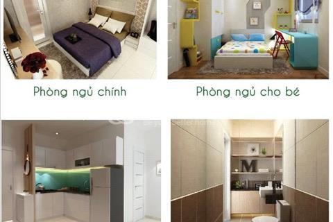 Cần nhượng lại căn 56 m2, 2 phòng ngủ, Block A3, nhận nhà tháng 9, giá 1,06 tỷ/căn, 2 phòng ngủ