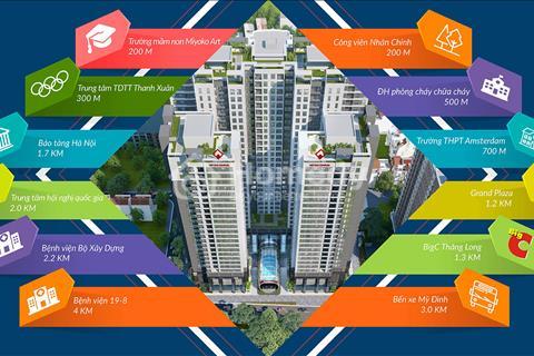 Bán chung cư gần công viên Nhân Chính, cạnh BigC Thăng Long – 2,3 tỷ/ căn 3 phòng ngủ