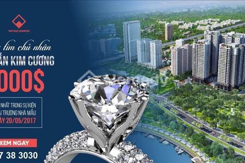 Khai trương nhà mẫu tặng nhẫn kim cương chỉ duy nhất tại Việt Đức Complex
