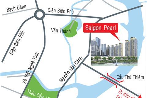 Cần bán căn hộ Saigon Pearl Topaz 1, 2 phòng ngủ, 90 m2. Giá 3,85 tỷ