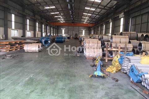 Cho thuê kho xưởng diện tích 3.000 m2 khu công nghiệp Phố Nối B, Mỹ Hào, Hưng Yên