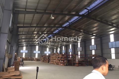 Cho thuê kho xưởng diện tích 1.600 m2 khu công nghiệp Lại Yên, Hoài Đức, Hà Nội