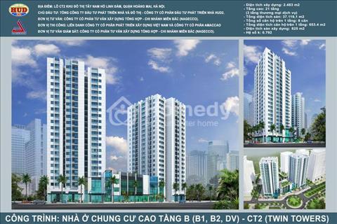 HUD2 mở bán đợt cuối căn hộ B1B2 Linh Đàm, giá từ 24 triệu nhận nhà ở ngay