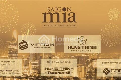 Mở bán 50 căn đẹp nhất Saigon Mia khu dân cư Trung Sơn chỉ từ 1,9 tỷ
