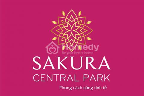 Nhận đặt chỗ ưu tiên - giá cực ưu đãi vào ngày mở bán dự án Sakura Central Park