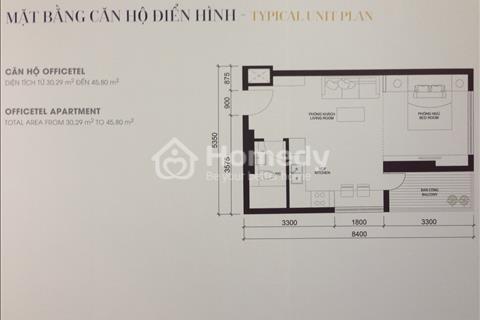 Office đặc biệt dự án Masteri Millennium, sở hữu lâu dài, diện tích 30 m2