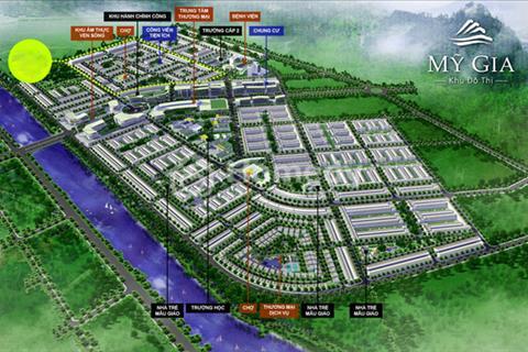 Gói 7 khu đô thị Mỹ Gia, giá 7,8 triệu/m2, hướng Đông Bắc. Vị trí đẹp