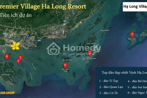 Bán biệt thự nghỉ dưỡng  Premier Village Resort Hạ Long chiết khấu 28% cam kết thuê 90%/10 năm