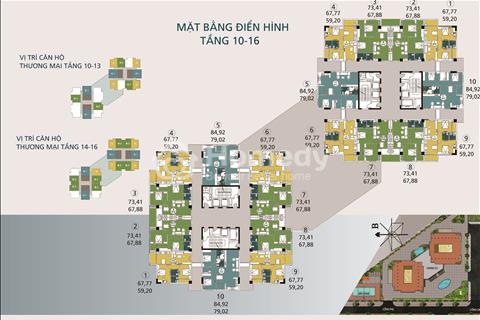 Cần bán suất ngoại giao căn hộ số 1602, tháp B tòa công vụ N04A Ngoại Giao Đoàn Giá 27,5 triệu/m2