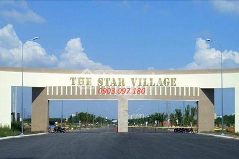 Cần bán đất nền dự án giá từ 11,5 triệu/m2 tại The Star Village, Nhà Bè. Cam kết giá tốt nhất!!!