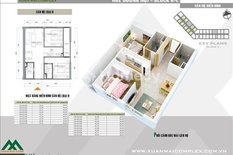 Bán căn hộ 47,3 – 80,15 m2 giá chỉ với 16 triệu/m2, bàn giao full nội thất, lãi suất 0%