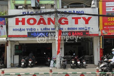 Cho thuê nhà mặt tiền Hoàng Văn Thụ, Phường 9, Quận Phú Nhuận