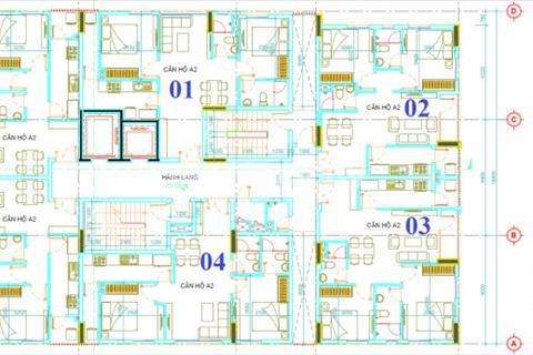 Bán 2 căn Block A Him Lam Chợ Lớn, 69 m2, tầng 9, view Quận 1. Giá 2,12 tỷ