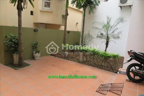 Tay Ho- Rental apartment with big yard and balcony, quiet area