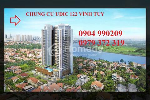Mở bán đợt cuối chung cư 122 Vĩnh tuy ( Udic Riversides ) nhận nhà ngay, hỗ trợ vay vốn