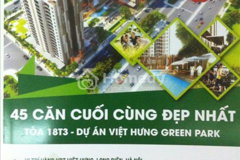 Cần bán gấp 2 căn góc hướng Đông Bắc và Đông Nam tại CT15 Việt Hưng, quà tặng lên đến 100 triệu