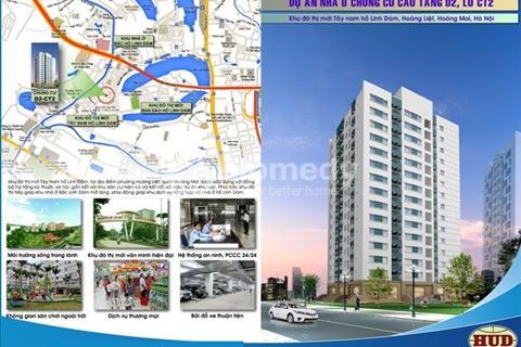 Bán căn hộ chung cư D2CT2 Linh Đàm, ký hợp đồng trực tiếp chủ đầu tư HUD, nhận nhà ở ngay.